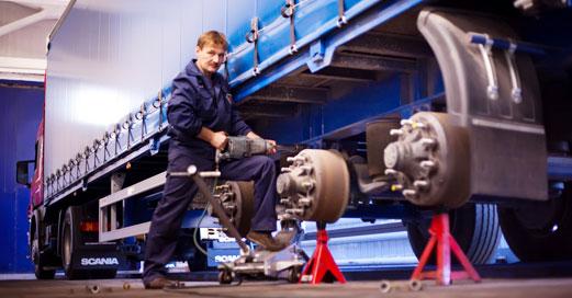 ремонт грузовых полуприцепов
